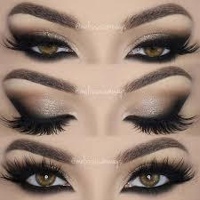 neutral dramatic smokey eyes makeup tutorial
