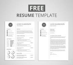 Resume Download Free Word Format