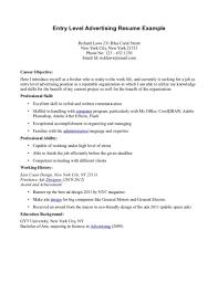 Marketing Entry Level Marketing Resume