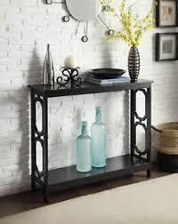 black hallway furniture. Image Is Loading Modern-Console-Table-Black-Sofa-Entrance-Living-Room- Black Hallway Furniture B