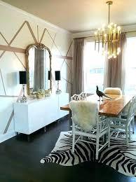 rectangular chandelier led bulbs fabulous dining room features a illuminating stainless steel and burl wood meurice jonathan adler cha