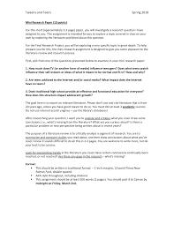 Mini Research Paper Requirements Educ 0819 Tweens And Teens Studocu