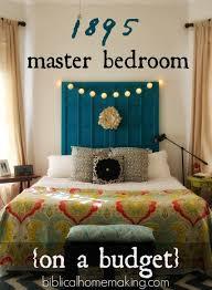 Master Bedroom On A Budget Biblical Homemaking 1895 Master Bedroom Reveal On A Budget