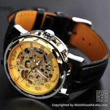 akribos xxiv men s ak525ss stainless steel mechanical skeleton condition vintage retro style handmade studded leather band unique dedicate perfect for gift ideas to the crowd:women girl men boy if you want to