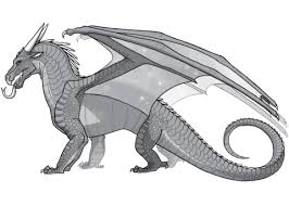 wings of fire nightwing dragon coloring page free printable