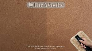 New StippleAntiqued Leather How To Faux Paint By The Woolie How Faux Leather Paint