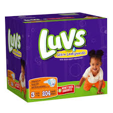 Luvs With Ultra Leakguards Size 3 Diapers 204 Count