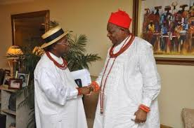 Image result for Chief Emmanuel Ganiga and Urhobo students pic