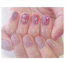 美少女的夏日清新nail在韩国美甲店做过的指甲集 巧啊好分享网 分享全