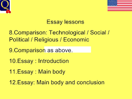us civil war  essay lessons 8