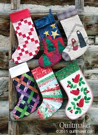 Quilted Christmas Stocking Pattern Amazing Quilted Christmas Stocking Pattern Christmas Cards