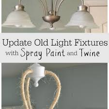 cabin pendant lights luxury updating a boring light fixture rope wrapped chandelier refresh wonderfull lighting world