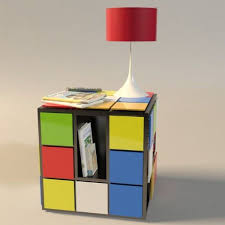 funky cafe furniture. Rubiks Cube Funky Coffee Table With Shelf Cafe Furniture N