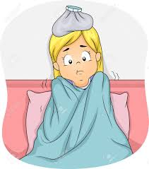 Image result for sick kid clip art