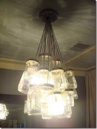 beauty of a chandelier, complete with a full tutorial on the designer's  site. I was in love. A mason jar light fixture? B-b-b-but all of my  every-day ...