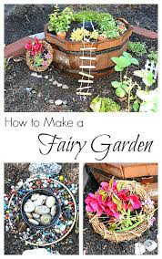 follow our outdoor play and learning board how to make a fairy garden