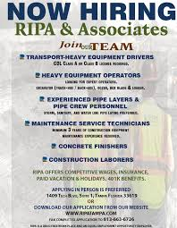 ripa associates ripa associates careers built on current job openings