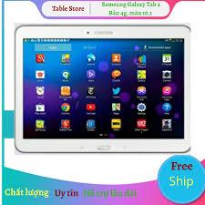 ĐÁNH GIÁ] Máy tính bảng Samsung Tab 4 10.1 3g+wifi tặng đế dựng, dán 3  lớp[add sẵn 2 phần mềm học online tienganh123, luyenthi123 bản quyền trọn  đời máy], Giá rẻ 3,680,000đ!