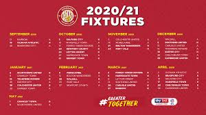 2020 21 fixtures revealed news