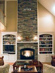 Fireplace Design Ideas  Beautiful Fireplace SurroundsFake Stone Fireplace