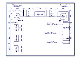 Standard Seating Chart Size Seatingexpert Com Restaurant Seating Chart Design Guide