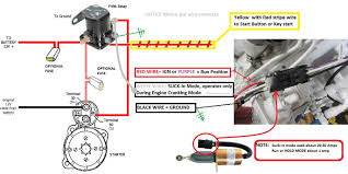 Aux Mag Switch Starter and Fuel Solenoid 1 fuel shutoff solenoid wiring 101 seaboard marine on fuel shut off solenoid wiring diagram
