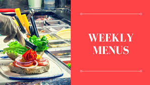 Weekly Menu - University College