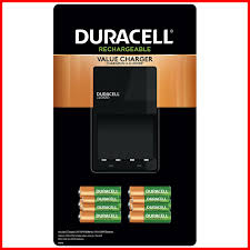 Duracell 6 Aa 4 Aaa Nimh Ni Mh Precharged Batteries With Charger
