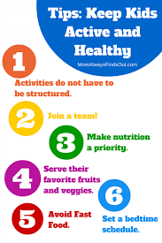 healthy kids tips ways to stay active and healthy 6 ways to keep kids active and healthy when life gets busy horizonb2s