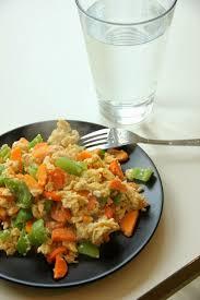Pepper and carrot scrambled egg {a student's messy egg dinner} | Stuffed  peppers, Eggs dinner, Dinner