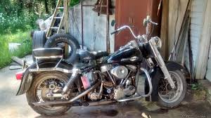 1962 harley panhead motorcycles for sale