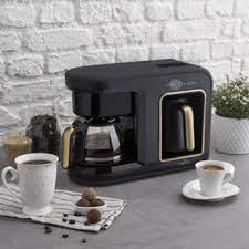 Karaca Hatır Plus 2 In 1 Kahve Makinesi Black Copper