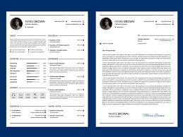 Free Infographic Resume Template With Cover Letter By Andy Khan On