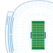 Detailed Seating Chart For Lambeau Field Lambeau Field Interactive Seating Chart