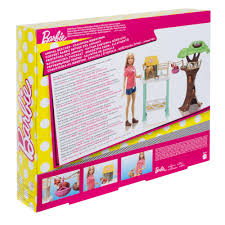 barbie pet rescue center playset with doll 8 animals accessories com