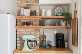 Tiny Kitchens + Open Shelving = Big Impacts