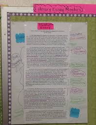 two reflective teachers close reading and literary essays part  this is our chart we created as a class after reading literary essay mentors during our whole class inquiry we have also added onto this chart throughout