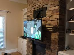 mounting tv to previous stone fireplace installation help img 20160306 175220 jpg
