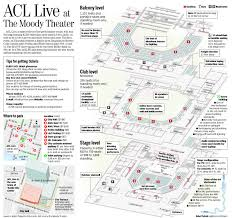 Acl Seating Chart Rigorous Moody Theater Seat Map Acl Live Seating Chart
