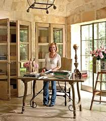 french country home office. ruth gayu0027s home office chateau domingue beautiful study french country with glass front n