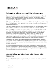 Best Photos Of Follow Up After Interview Template Follow Up Email