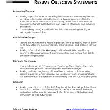 cv objectives statement shocking samples of resumes objectives job general sample curriculum