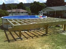 Above Ground Swimming Pool Deck Designs Best Decorating Ideas