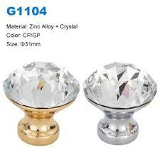 crystal furniture knobs. Crystal Cabinet Knob Zamak Furniture Decorative Factory Betterbyday Hardware G1104 Knobs