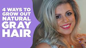Best Way To Color Grey Hair Naturally