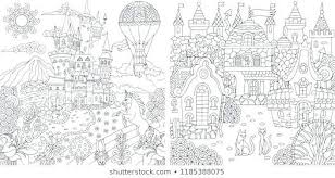 Fantasy Coloring Pages For Adults Free Printable Only Art Dragon Pa
