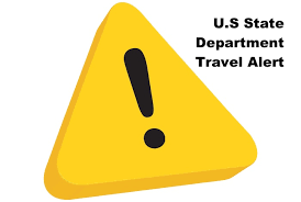 Image result for us state department travel warnings