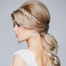 結婚式の髪型にカチューシャを使った花嫁ヘアスタイル長さ別