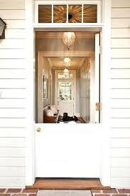 Dutch Front Door Double Doors Colonial Style With Regard To Exterior