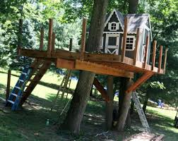 Freestanding Treehouse Plans Beautiful Simple Tree Houses to Build